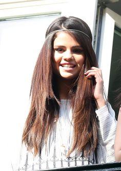 Selena Gomez à Paris, le 17 février 2013.