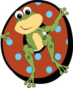 °‿✿⁀°•. Frogs °•.‿✿⁀° Frog Cartoon Images, Alphabet And Numbers, Alphabet Fonts, Frog Coloring Pages, Childrens Alphabet, Frog Illustration, Frog Theme, Frog Pictures, Abc For Kids