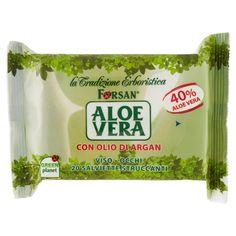 forsan - Aloe vera - salviette struccanti viso all' olio di argan - Tigotà