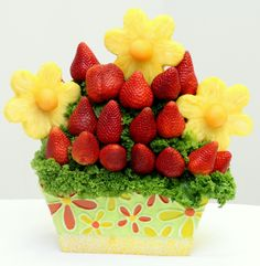 Abilene Florists | Flowers Abilene | Big Country Flowers - Fruit Arrangement - Strawberries