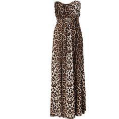 Miso Leopard Print Maxi Dress