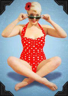 50's swim suit :)