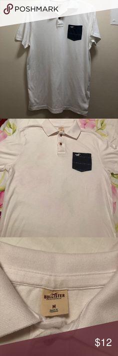 Mens polo shirt Hollister mens polo shirt Hollister Shirts Polos