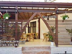 Portofoliu - Bucuresti si Ilfov - foisoare-terase.ro Gardens, Outdoor Structures, Outdoor Gardens, Garden, House Gardens