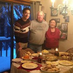 Every time he went home for the holidays to see his fantastic family. | 43 Times Daniel Henney Ruined You For Other Men
