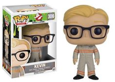 Kevin, the receptionist, becomes a part the ghost busting team and a part of the Pop! Vinyl family! This Ghostbusters Pop! Vinyl Figure features Chris Hemsworth as Kevin from the rebooted 2016 film, Ghostbusters. This figure measures about 3 3/4 inches tall and comes packaged in a window display box. #funko #popvinyl #actionfigure #collectible #Ghostbusters #Kevin