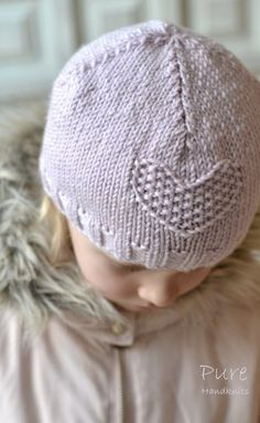 Aran girl hat project shared on the LoveKnitting Community