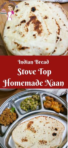 This Homemade Naan is an absolute treat. Simple, easy and delicious laden bread to eat with any Indian curry. Add some butter for butter naan, a few crushed garlic cloves for a garlic naan twist or simply sprinkle with pretty nigella seeds. Indian Food Recipes, New Recipes, Favorite Recipes, Amazing Recipes, Drink Recipes, Easy Recipes, Vegetarian Recipes, Recipies, Fried Fish Recipes
