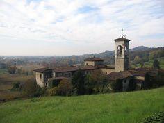 Bergamo - Monastero di Astino - si trova nella valle omonima