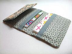 Card Wallet (2) by Very Berry Handmade, via Flickr