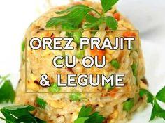 Orez Prajit Cu Ou Si Legume Snack Recipes, Snacks, Baked Potato, Chips, Potatoes, Meat, Chicken, Baking, Ethnic Recipes