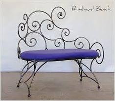 Resultado de imagen para muebles de hierro forjados
