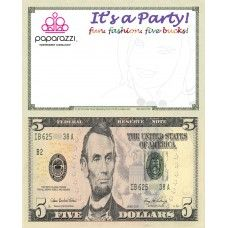 The power of marketing with 100 dollar bill drop cards work at paparazzi distributors as a thank you for your business to show you how much we colourmoves