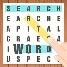 Download the fun Amazon App, Word Search, for FREE today! This word challenge puzzle app is fun for both adults and children.