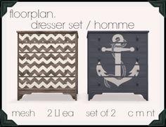 floorplan. dresser set / homme [ boxed ]