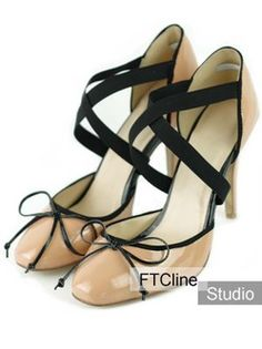 bf06e947377d Classical Skin Color 4 3 4   Heel Sheepskin Shoes For Women Red Bottom