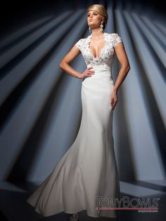 @Tony Bowls   Style #TBC011 cap sleeve pageant dress :) #IPAProm #pageantdresses #dresses
