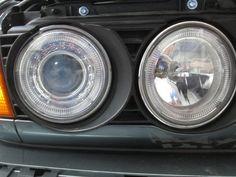 BMW e32 730i Angel Eyes