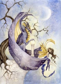 Fantasy Fine Art Print  85x11  The Orb  Enchanting by FaeryDustArt, $20.00