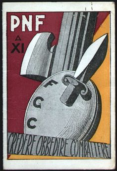 """The Partito Nazionale Fascista (PNF, National Fascist Party) was an Italian party, created by Benito Mussolini as the political expression of Fascism (previously represented by groups known as Fasci. The party ruled Italy for twenty-one years from 1922 to 1943 under a centralized model of government. After Italy's descent into so-called """"liberal"""" """"democracy"""", the PNF became the only party whose reformation was explicitly banned by the Constitution of Italy, """"under any form"""". In practice…"""