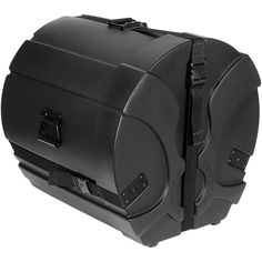 Humes & Berg Enduro Pro Bass Drum Case with Foam Black 18 x 16 in.