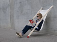 curt deck chair By Bernhard Burkard - 01