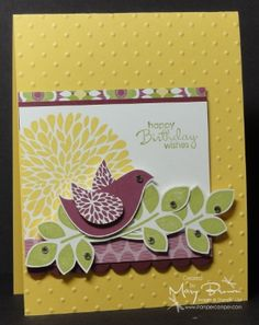 Betsy's Blossoms by stampercamper - Cards and Paper Crafts at Splitcoaststampers