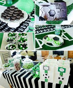 SOCCER BIRTHDAY PARTY!  Visit www.partyzilla.com.au for Kids Party Supplies, Gifts and more!