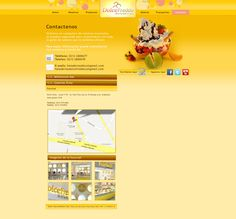 Imagen Corporativa DolceFreddo on Behance Web Design, Behance, Design Web, Website Designs, Site Design