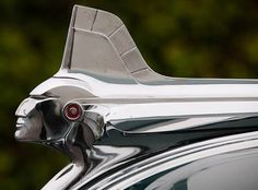 I love these old Pontiac Indian head ornaments!!