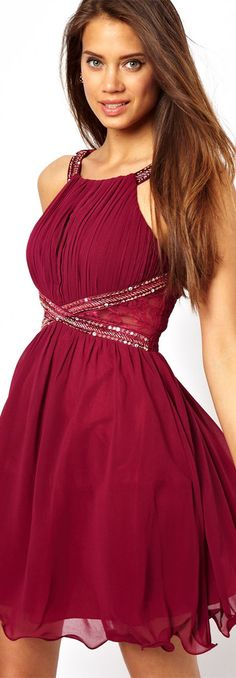 Little Mistress Embellished Prom Dress