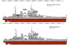 HMS Battleship Rodney