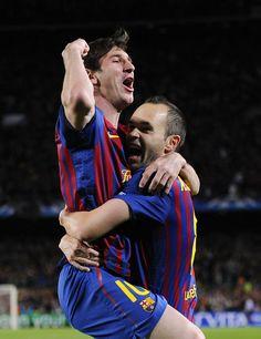 Lionel Messi & Andrés Iniesta