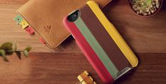 Multicolored iPhone 6 Leather Cases