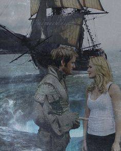 Captain Hook and Emma. ABC needs to make this couple happen, NOW! Best Tv Shows, Best Shows Ever, Movies And Tv Shows, Captain Swan, Captain Hook, Murdoch Mysteries, Hook And Emma, Outlaw Queen, Fictional World