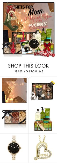 """""""Holiday Gifts for Mom"""" by jesslea85 ❤ liked on Polyvore featuring interior, interiors, interior design, home, home decor, interior decorating, Amara, FREDS at Barneys New York, Marc by Marc Jacobs and holidaygiftformom"""
