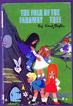 The Folk of the Faraway Tree ~ Enid Blyton  Hardback 1972 * Jo/Fanny characters