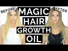 MAGIC Hair Growth Oil For Longer Thicker Hair! - YouTube