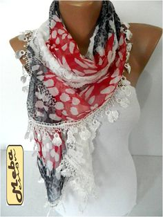 Elegant scarf  Fashion scarf  scarves   Fashion by MebaDesign