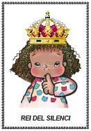 Una manera de treballar a partir dels 2-3 anys el silenci a l'aula.  Oferir la corona a la nena o al nen més callat.