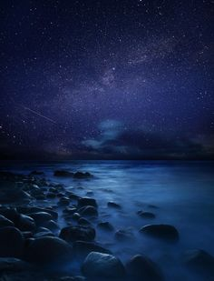 Starry Night at Sennen Cove - Sennen Cove, Cornwall, England