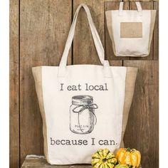 I Eat Local Market Bag