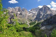 Val Contrin, Dolomiti