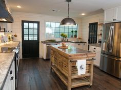 Chip and Joanna Gaines Transform a Barn Into a Rustic Home Perfect for Entertaining | Decorating and Design Blog | HGTV