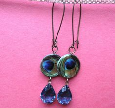 Eye of the Peacock by MimiJewels on Etsy, $14.00.  http://www.etsy.com/listing/119459306/eye-of-the-peacock?ref=shop_home_feat