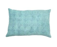 washed pattern pillow