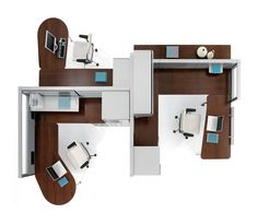 Interior design for office space planning
