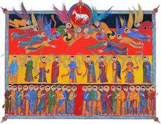 folio n°20 l'Adoration de l'agneau