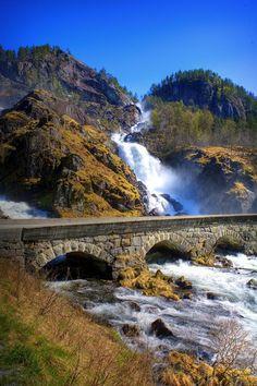 Latefoss Waterfall, Oddadalen