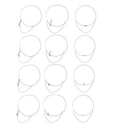 How to Draw Anime Heads and Faces - Lombn Sites Drawing Heads, Nose Drawing, Comic Drawing, Guy Drawing, Drawing Tips, Manga Drawing Tutorials, Art Tutorials, Manga Nose, Sketch Nose